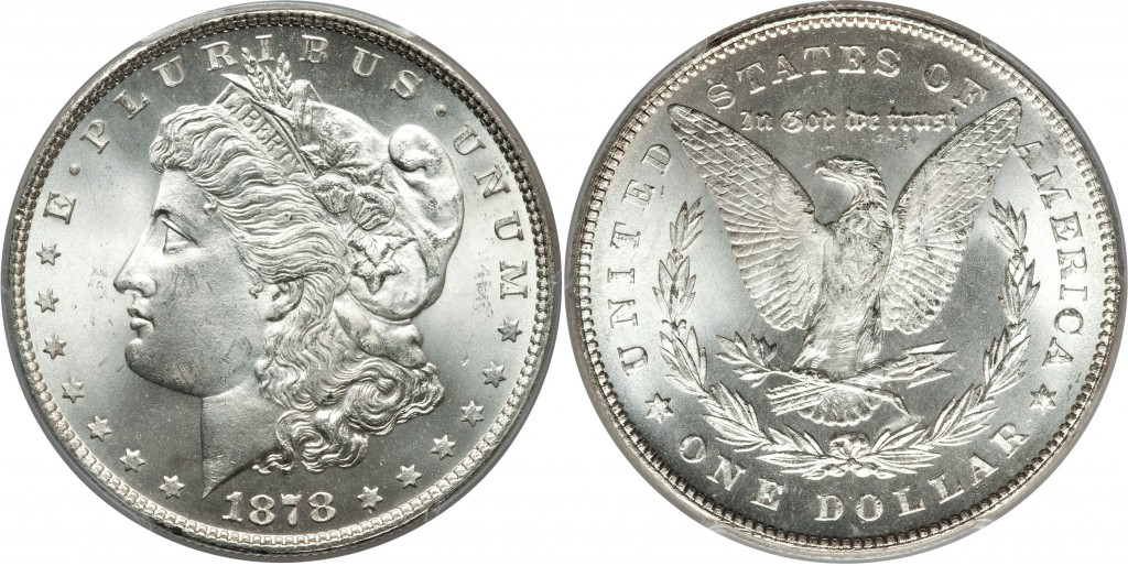 1878 7 TF Morgan Dollar Value