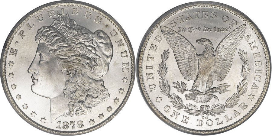1878-CC Morgan Dollar Value – Morgan Dollar Values