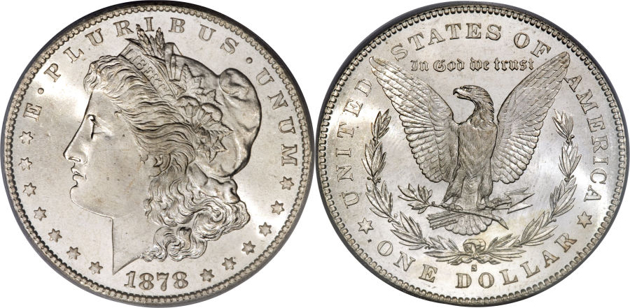 1878-S Morgan Dollar Value