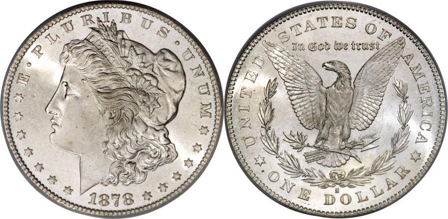 1878-S Morgan Dollar Value