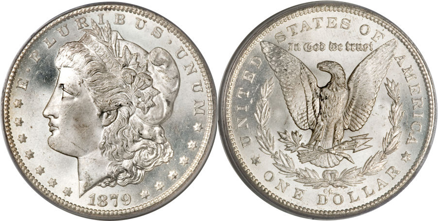 1879-CC Morgan Dollar Value