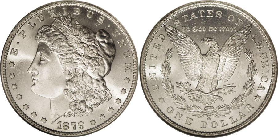 1879-O Morgan Dollar Value
