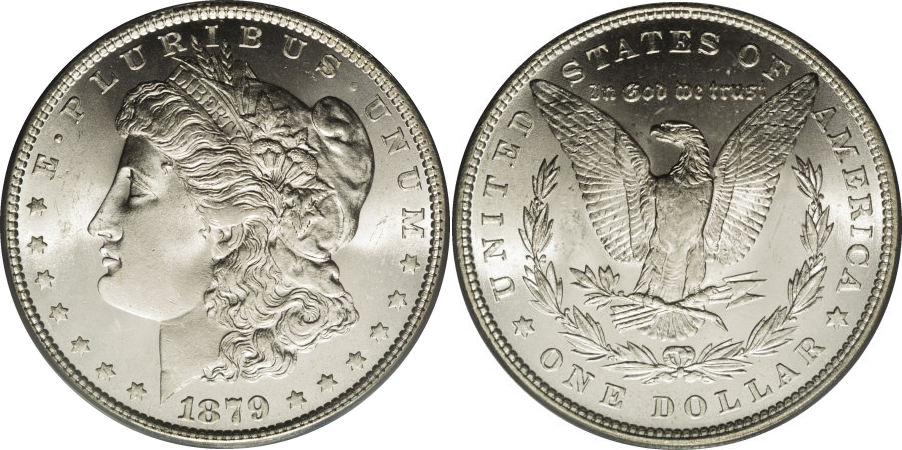 1879 Morgan Dollar Value