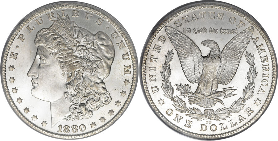 1880-CC Morgan Dollar Value
