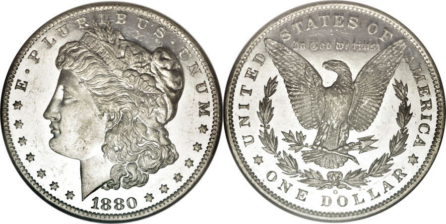 1880-O Morgan Dollar Value