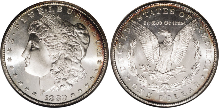 1880-S Morgan Dollar Value