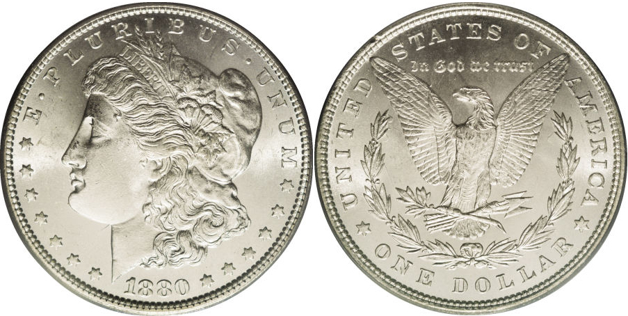 1880 Morgan Dollar Value