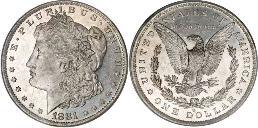 1881-O Morgan Dollar Value