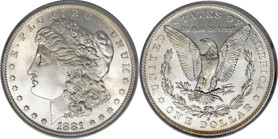 1881-S Morgan Dollar Value