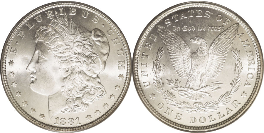1881 Morgan Dollar Value