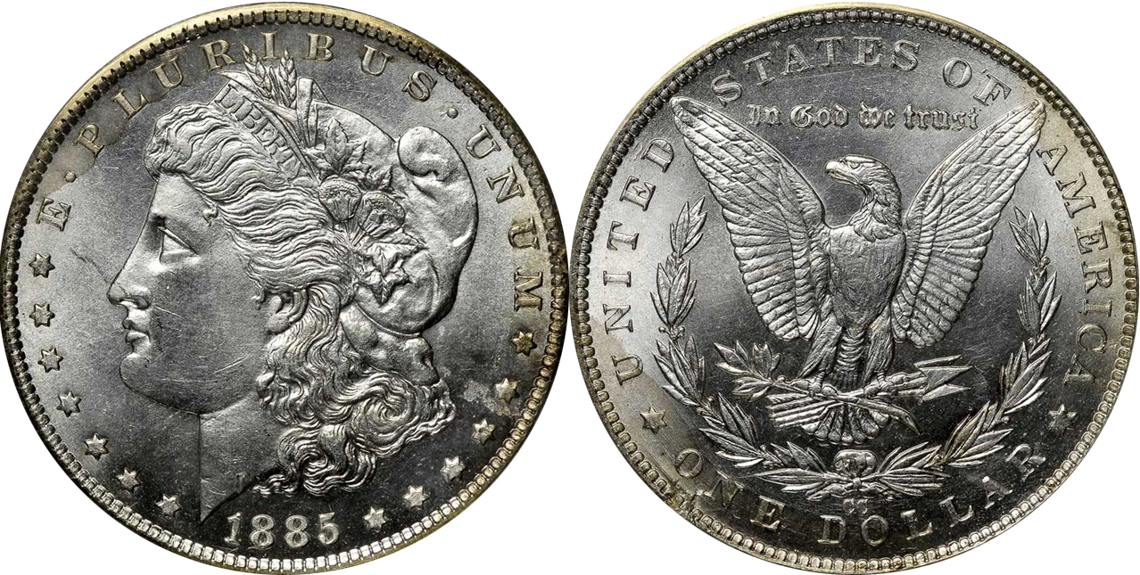Counterfeit Fake Morgan Silver Dollars Morgan Dollar