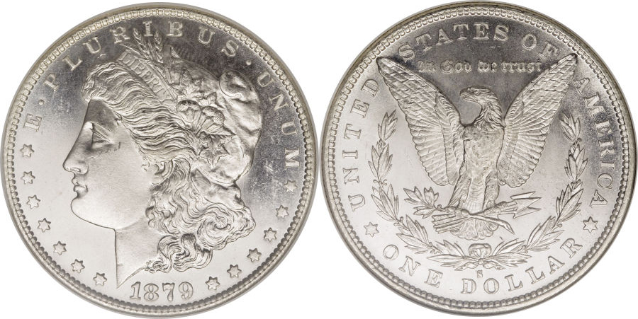 1879-S Morgan Dollar Value