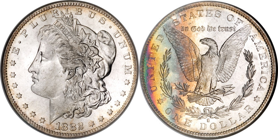 1882-S Morgan Dollar Value