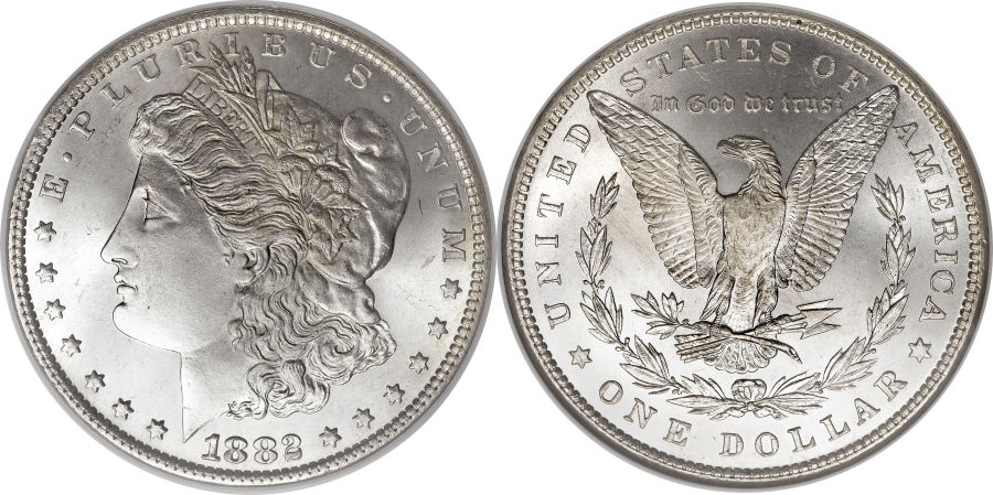 1882 Morgan Dollar Value