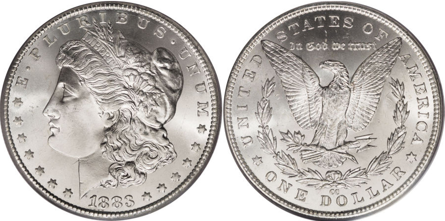 1883 Morgan Dollar Value