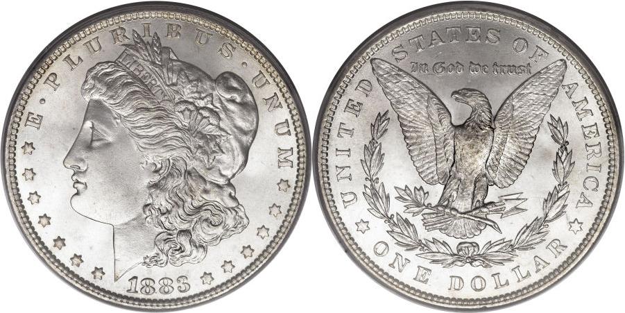 1883 Morgan Dollar Value
