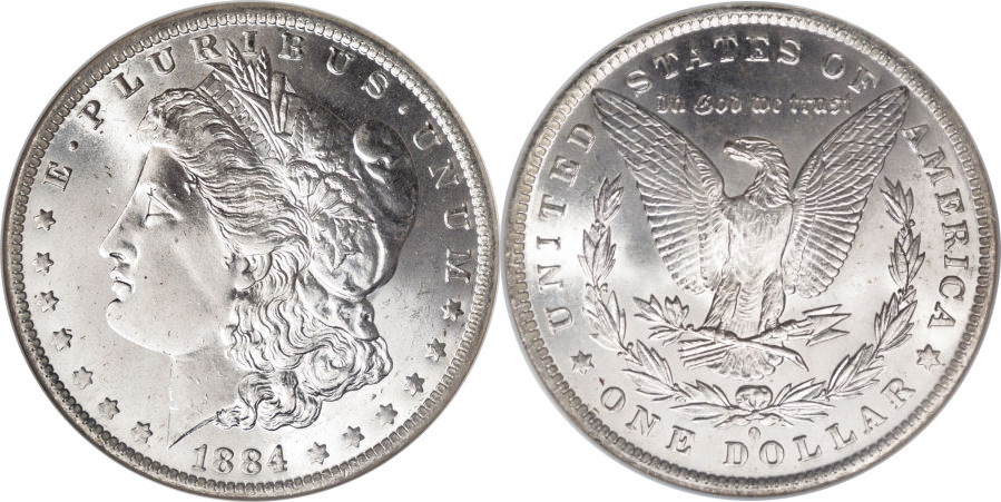 1884-O Morgan Dollar Value