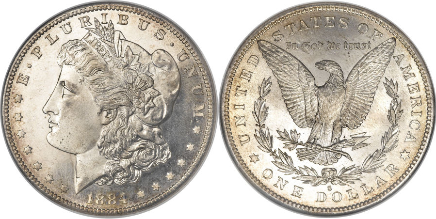 1884-S Morgan Dollar Value