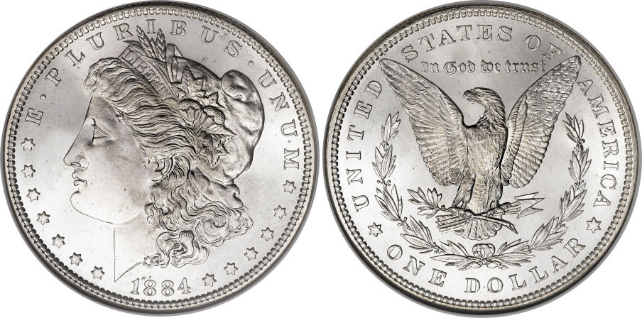 1884 Morgan Dollar Value