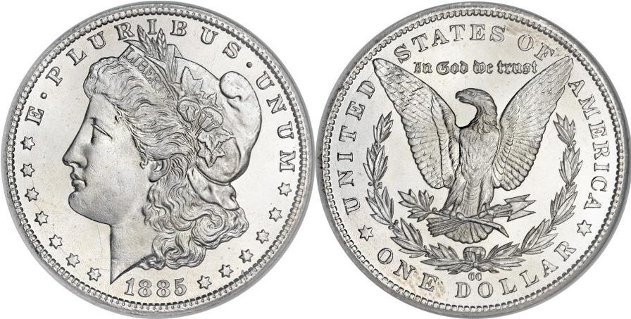 1885-CC Morgan Dollar Value