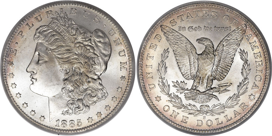 1885-S Morgan Dollar Value