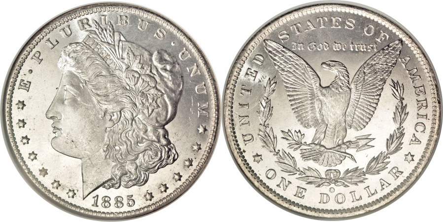 1885-O Morgan Dollar Value