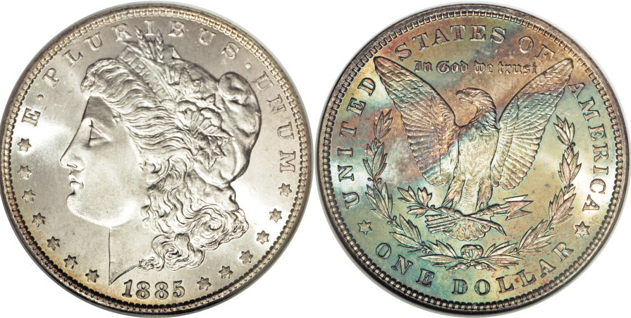 1885 Morgan Dollar Value