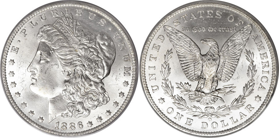 1886-O Morgan Dollar Value