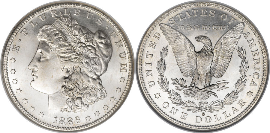 1886-S Morgan Dollar Value