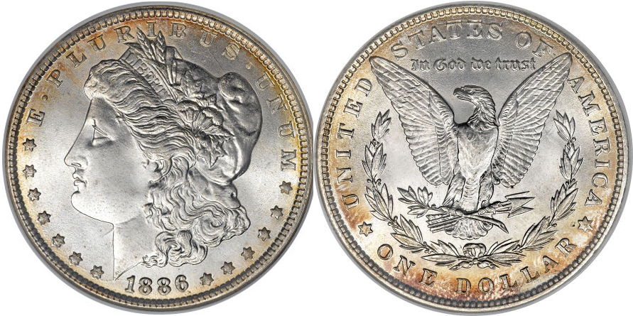 1886 Morgan Dollar Value