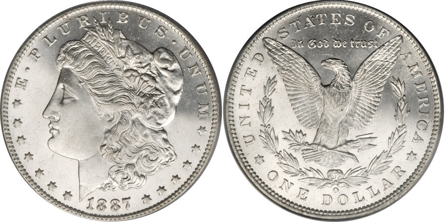 1887-O Morgan Dollar Value