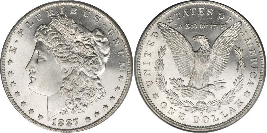 1887-O Morgan Dollar Value