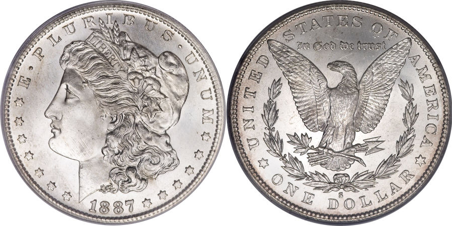 1887-S Morgan Dollar Value