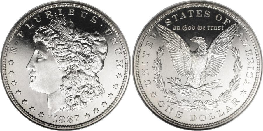 1887 Morgan Dollar Value