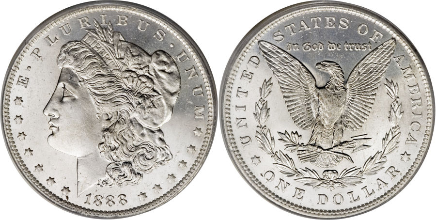 1888-O Morgan Dollar Value