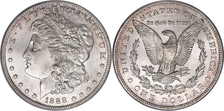 1888-S Morgan Dollar Value