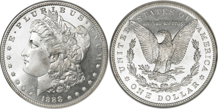 1888 Morgan Dollar Value