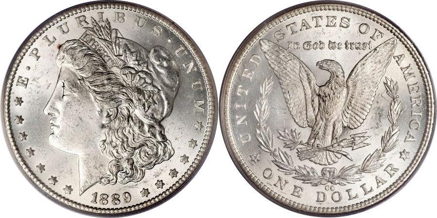 1889-CC Morgan Dollar Value