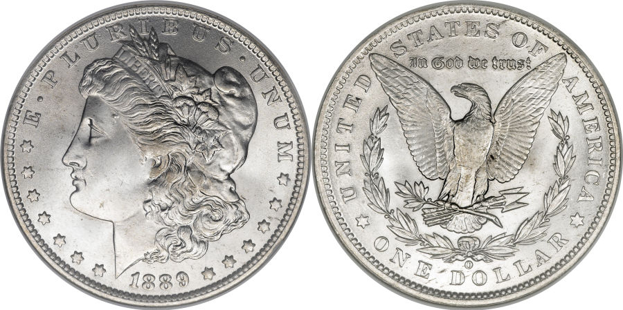 1889-O Morgan Dollar Value