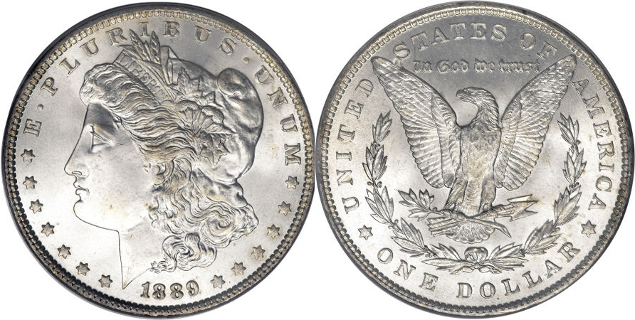 1889 Morgan Dollar Value