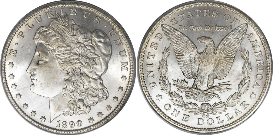1890-CC Morgan Dollar Value