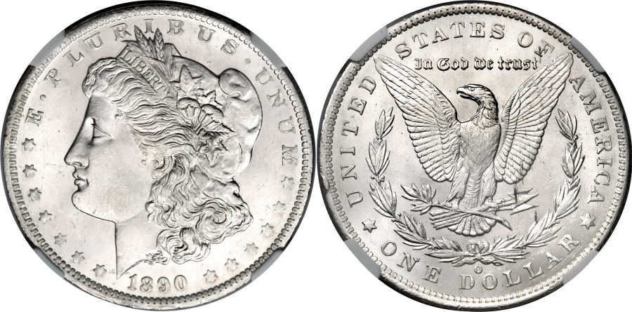 1890-O Morgan Dollar Value