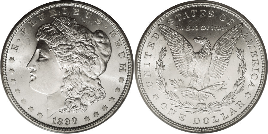 1890 Morgan Dollar Value