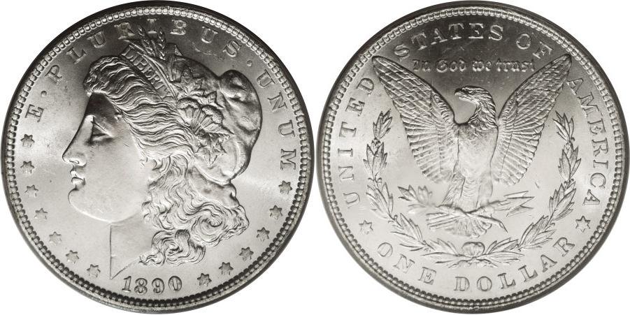 1890 Morgan Dollar Value