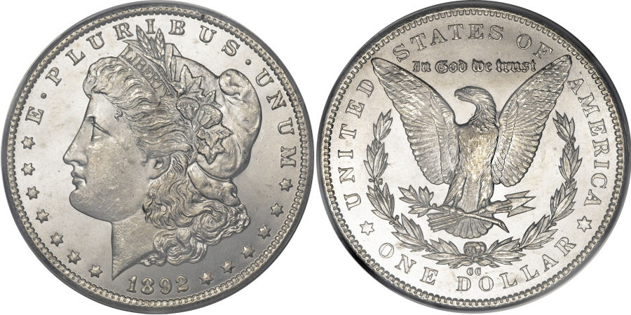 1892-CC Morgan Dollar Value