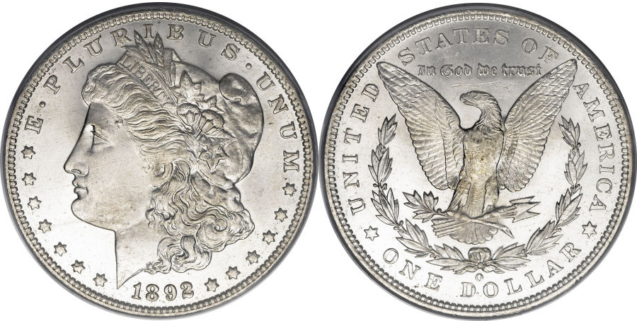 1892-O Morgan Dollar Value