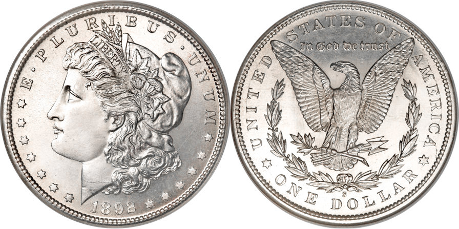 1892-S Morgan Dollar Value