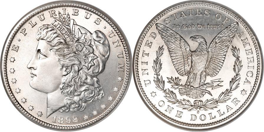 1892-S Morgan Dollar Value