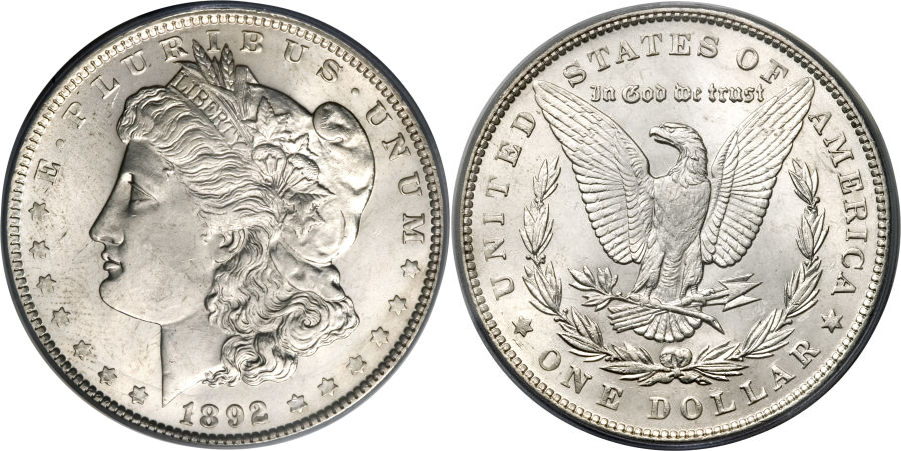 1892 Morgan Dollar Value