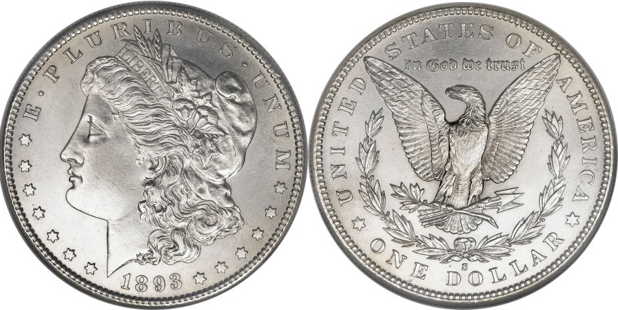 1893-S Morgan Dollar Value